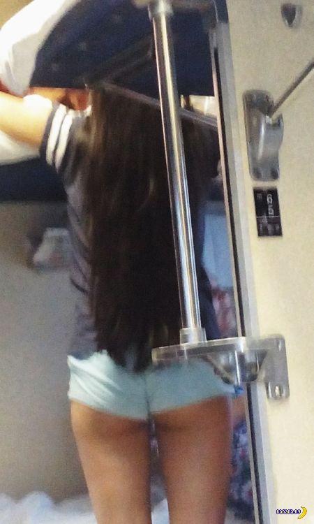 В поездах сейчас жарко...