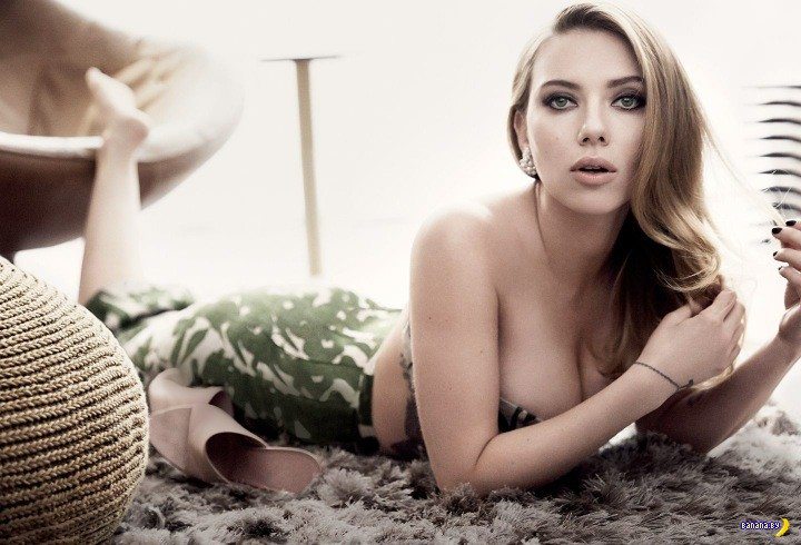 Скарлетт Йоханссон для  Vanity Fair