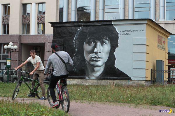 Еще одного Цоя закрасят в Петербурге