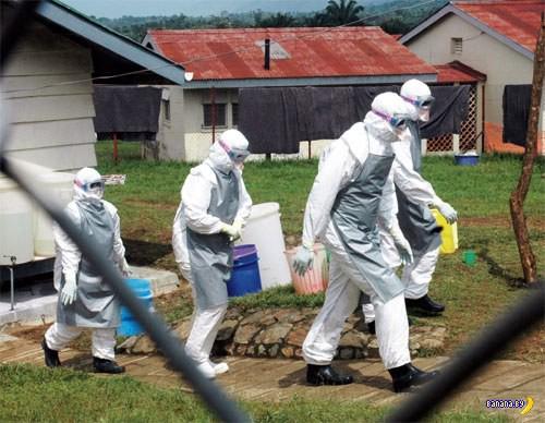 Заражённые вирусом Эбола вырвались на свободу