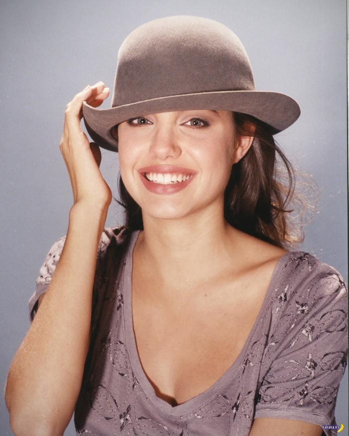 Анджелина Джоли в 14 лет!