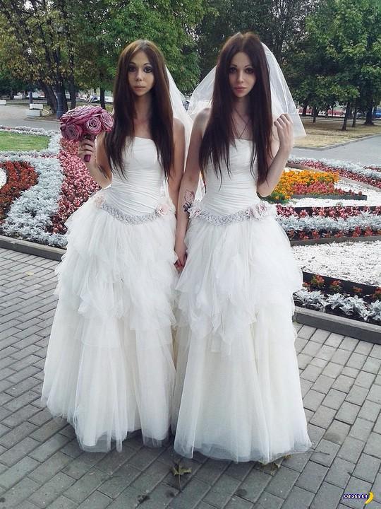 Московская свадьба с двумя невестами