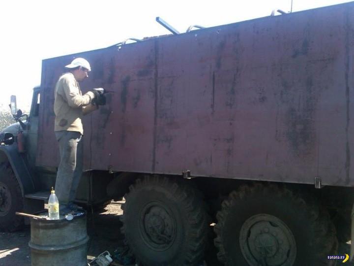 Перспективные образцы бронетехники из зоны АТО