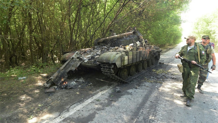 Сводка о потерях украинской армии от ополченцев
