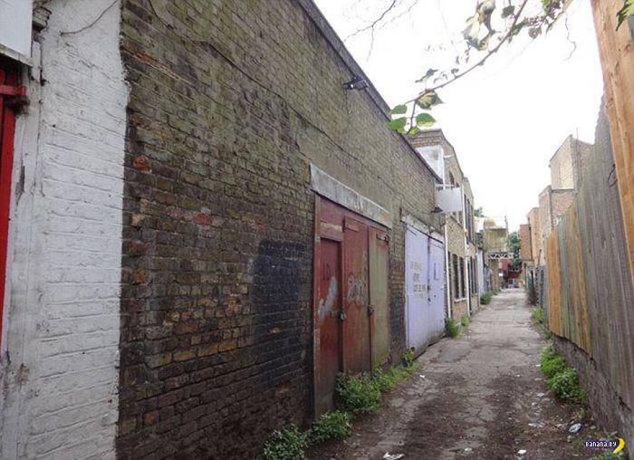 Вот сколько стоит гараж в Лондоне?