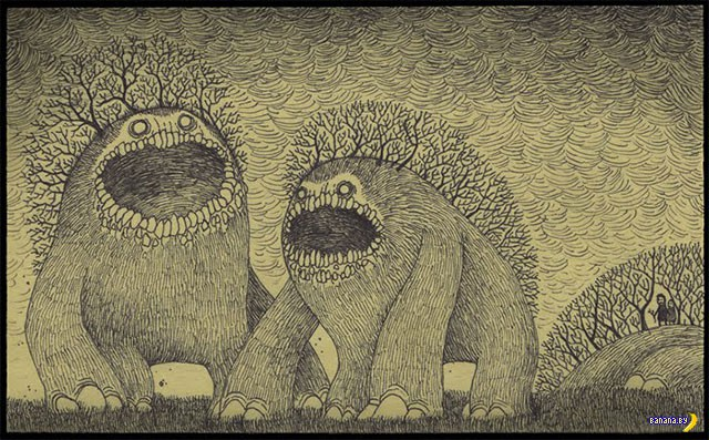 Рисует Дон Кенн
