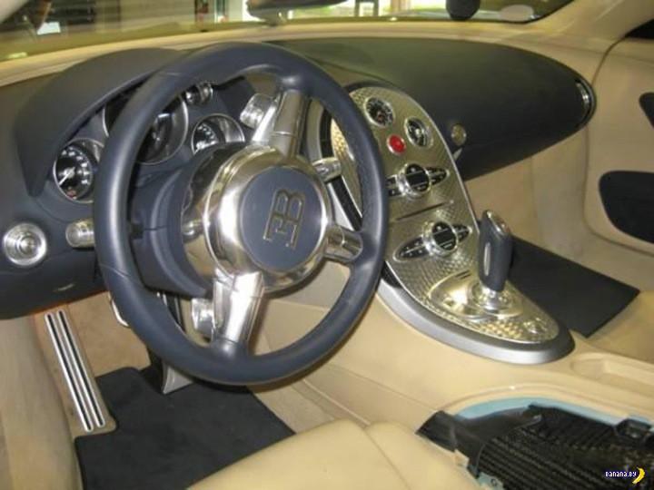 Битый Veyron? Зачем?!