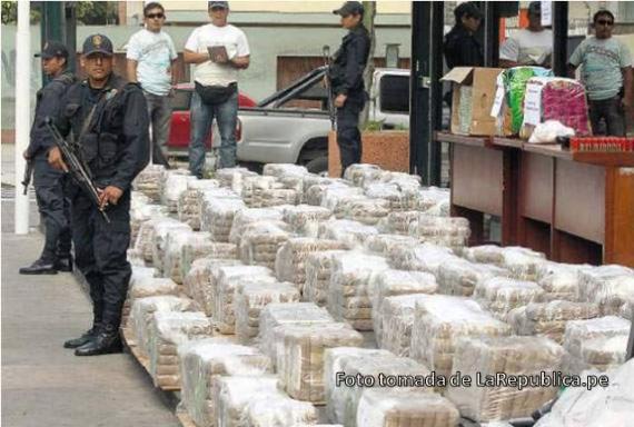 В Перу задержана рекордная партия кокаина