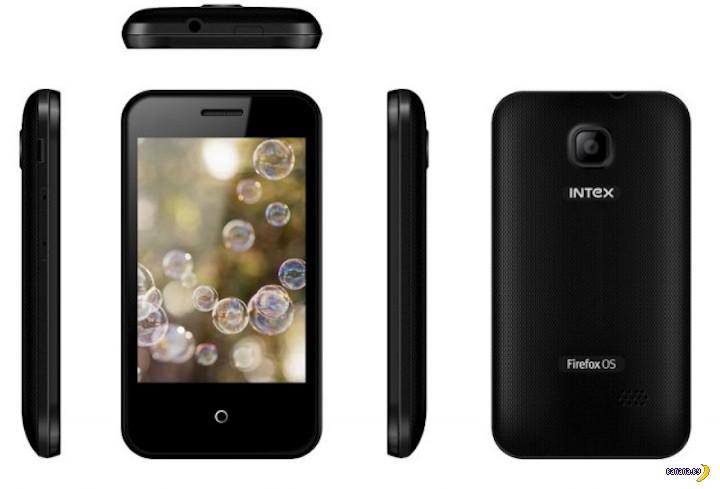 Первый смартфон под управлением Firefox OS уже в продаже