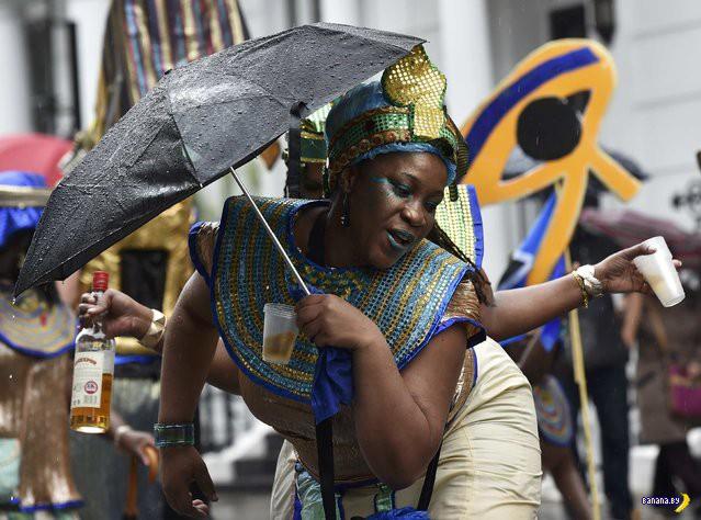 Карнавал Notting Hill в Лондоне