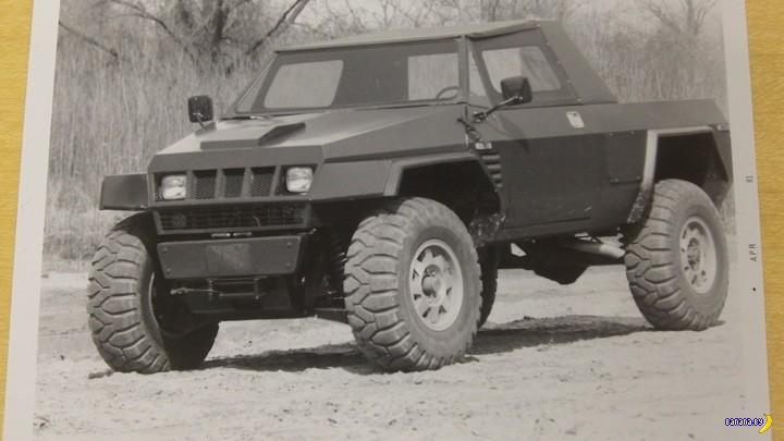 Он мог быть в армии на месте Humvee