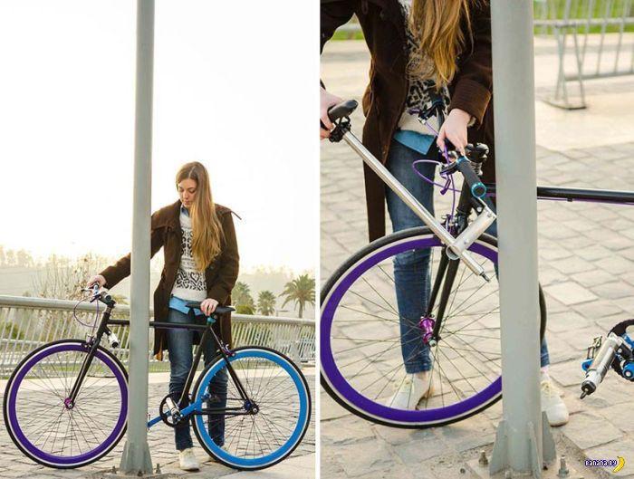 Противоугонный велосипед