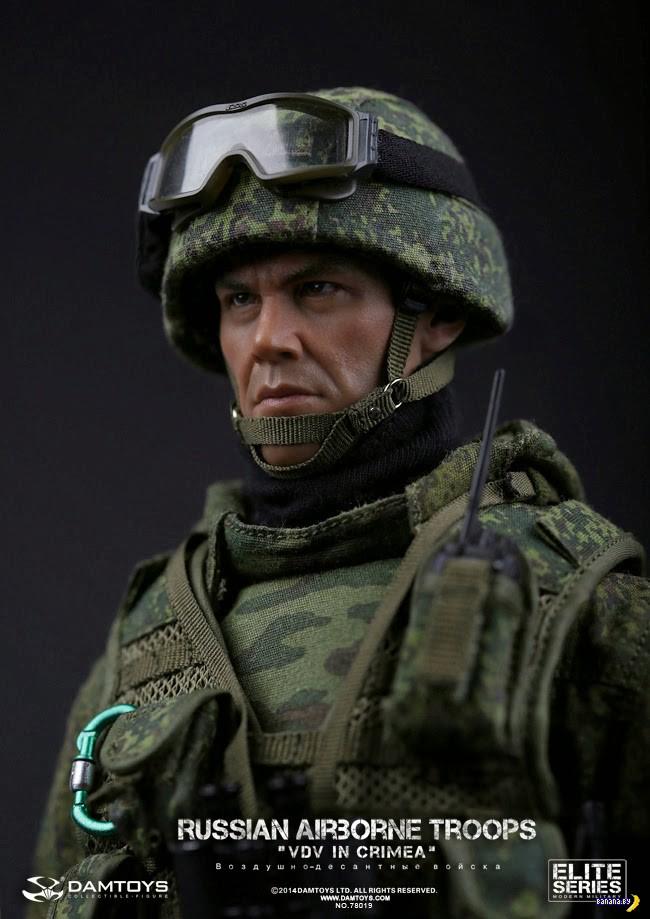 Action figures: русский боец ВДВ в Крыму
