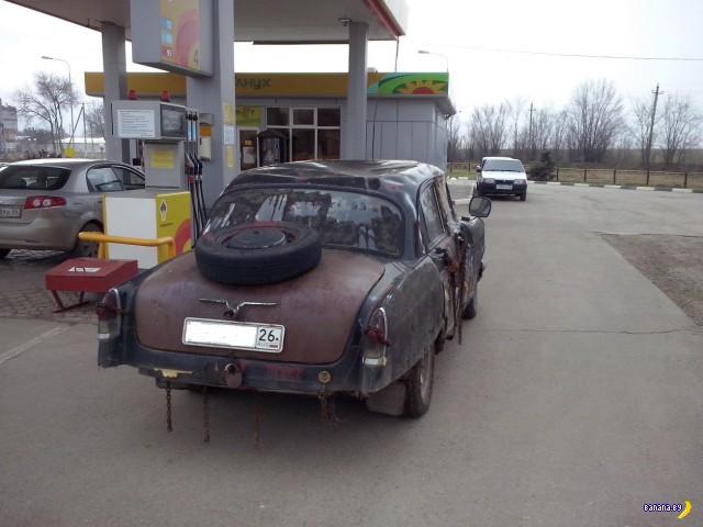 Классическая Волга в rat-style