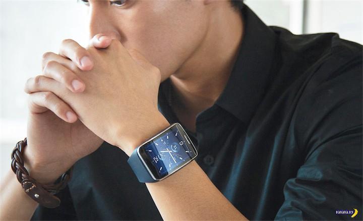 Новые часики от Samsung