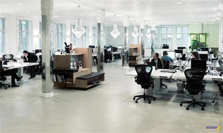 Белый офис в Дании