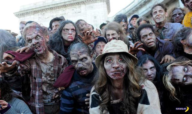 Z Nation - еще один сериал про зомби!