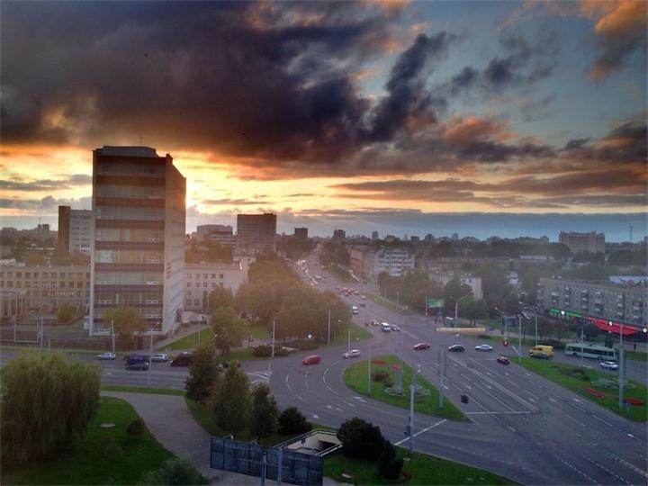В Беларуси пока тёпленько
