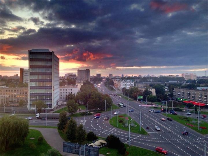 По погоде всё окей в Беларуси!