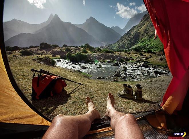 Ноголуки из палатки