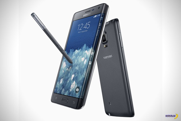 Необычный Samsung Galaxy Note Edge