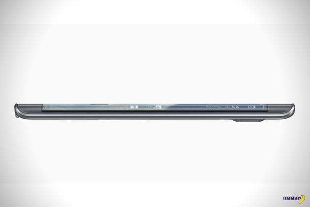 Необычный Samsung Galaxy Note Edge