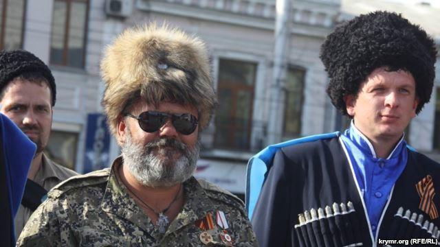 Бабай вербует добровольцев в Симферополе