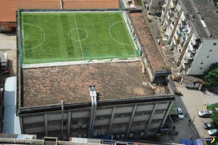 Рациональный подход к школьным стадионам