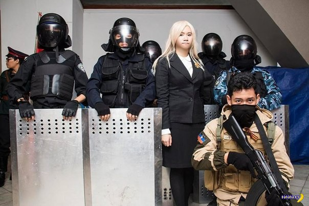 Японский косплей и ДНР