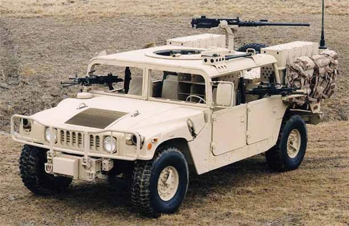 Humvee, гудбай!