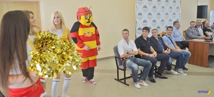 Маскот года в российском хоккее