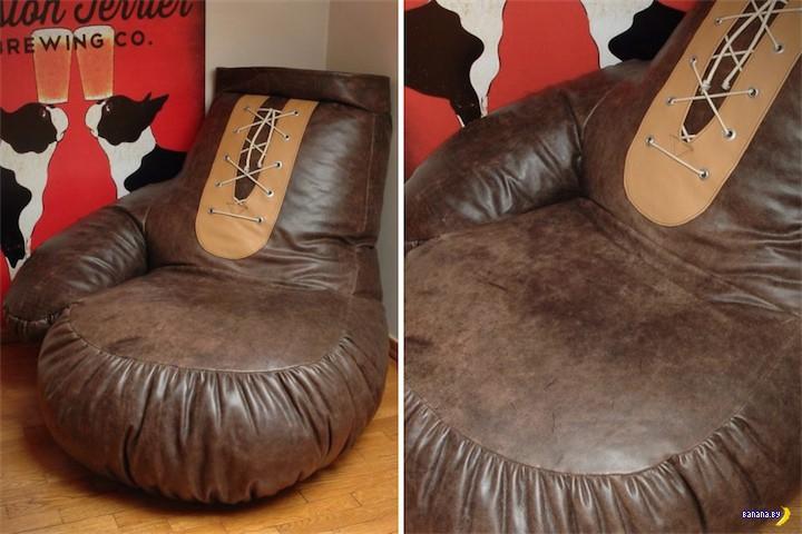 Пацанское бескаркасное кресло