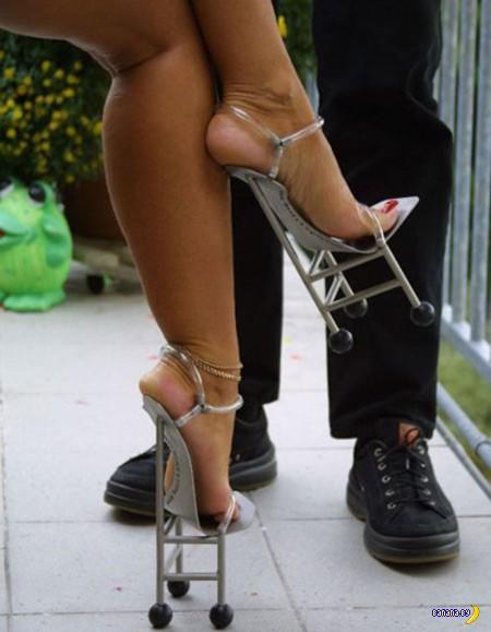 12 пар самой странной обуви