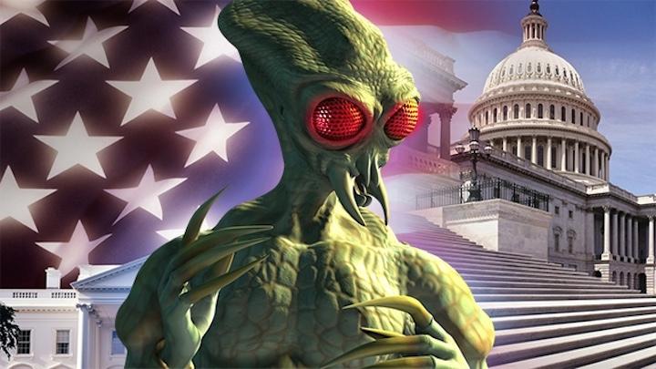 Америкой правят инопланетные нацисты