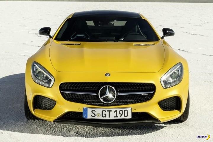 Новый Mercedes-AMG GT