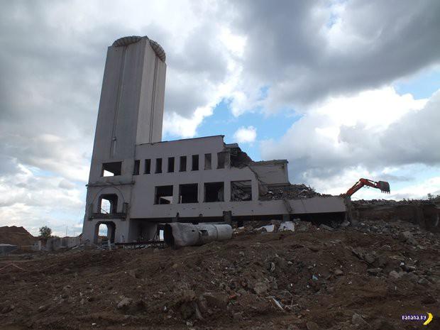 Автовокзал «Московский» уничтожен