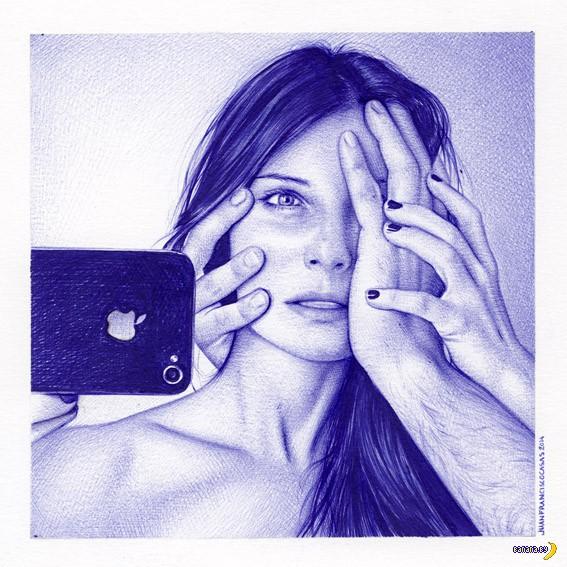 Рисует Хуан Франциско Касас