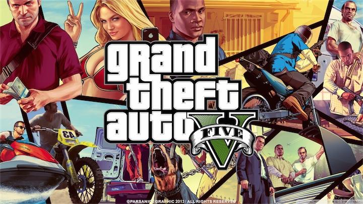 И снова про Grand Theft Auto V