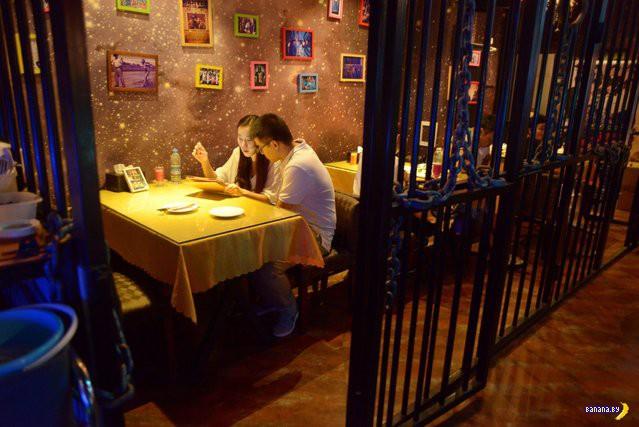 И снова ресторан на тюремную тему