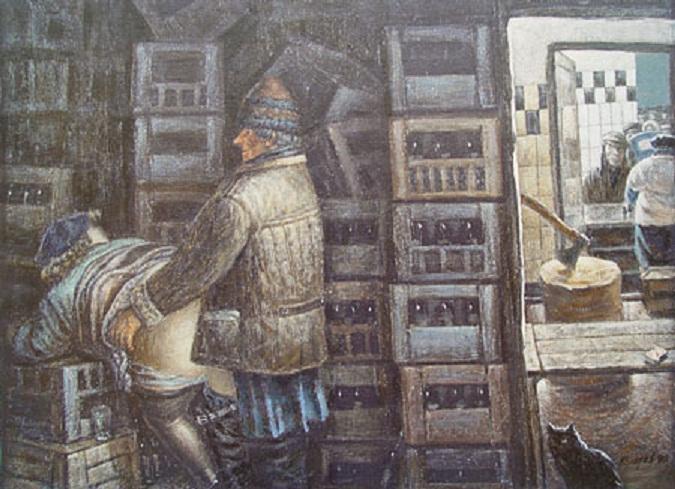 Ватники в живописи