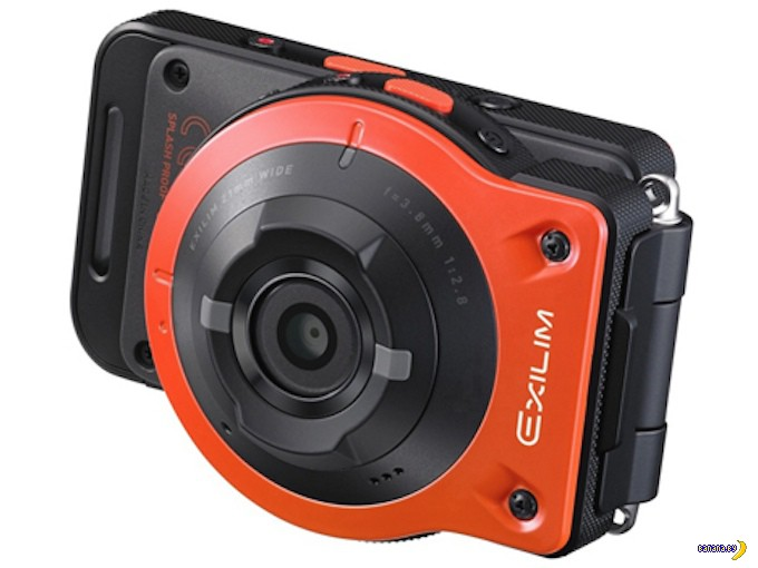 Очень интересная камера Exilim EX-FR10