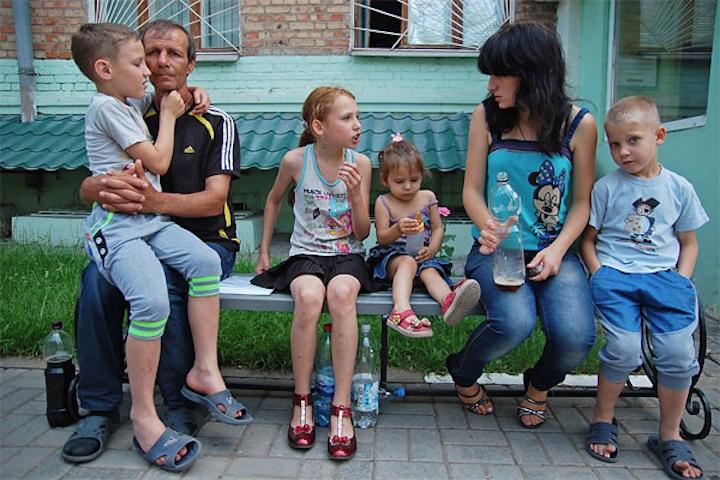Про украинских беженцев в Беларуси
