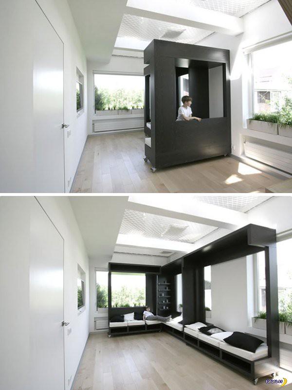 Идеи для тесных домов