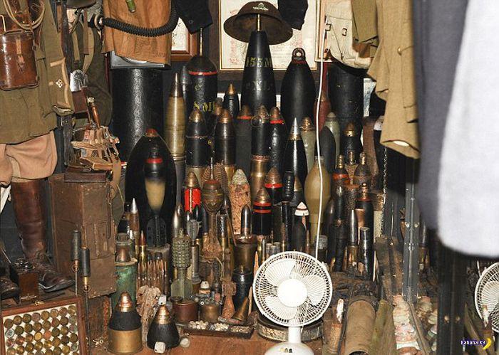 Разоружение коллекционера