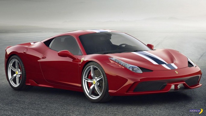 Новинка  - Ferrari 458 Speciale