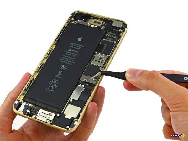 Умельцы из iFixit вскрыли новый iPhone 6 Plus
