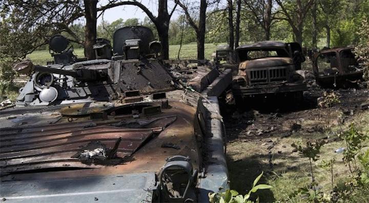 В ходе АТО уничтожено 2/3 техники ВСУ