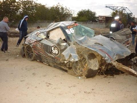 Nissan GT-R убил пилота на трассе по дрэг-рейсингу