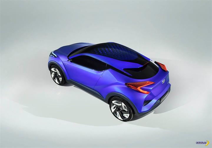 Украденные фото кроссоера Toyota C-HR hybrid