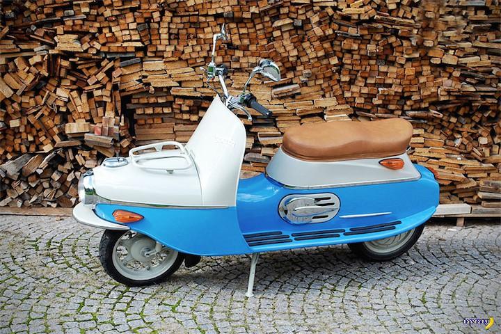Ретро-стиль Čezeta Type 506